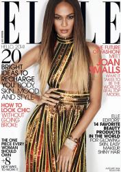 Джоан Смоллс для Elle US, январь 2014