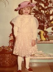 Магдалена Фраковяк в детстве