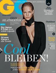 Эрин Хитертон для журнала GQ Germany, июль 2013