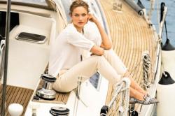 Кармен Педару в летней рекламной кампании Massimo Dutti