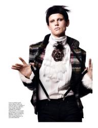 Саския Де Брау для Vogue Paris, август 2013