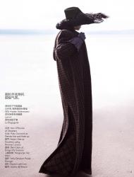 Саския Де Брау для Vogue China, сентябрь 2014