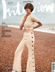 Саския Де Брау для Interview Germany, апрель 2015