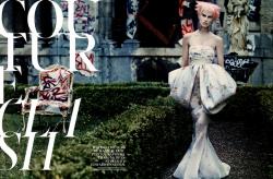 Саския Де Брау для W Magazine USA, октябрь 2013
