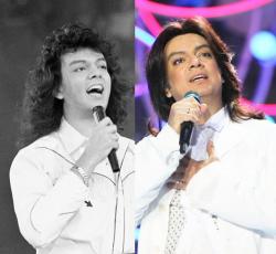 Филипп Киркоров в 1991 году и 2009 году