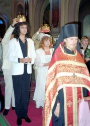 Венчание Филиппа Киркорова и Аллы Пугачевой