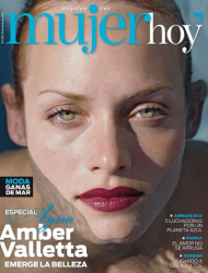 Эмбер Валлетта на обложках журналов