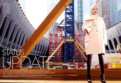 Эмбер Валлетта для журнала Vogue USA, август 2013