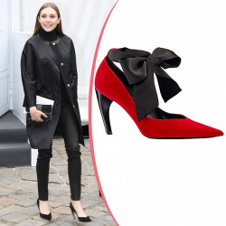 Звездная обувь Элизабет Олсен