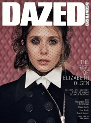Элизабет Олсен на обложках журналов