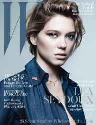 Леа Сейду для W Magazine, октябрь 2013