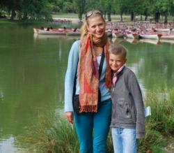 Татьяна Литвинова с сыном