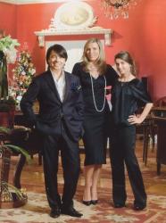 Валентин Юдашкин и его семья