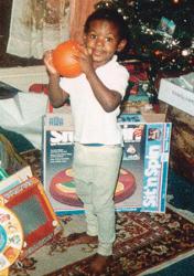 Леброн Джеймс в детстве