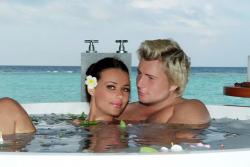 Медовый месяц Баскова и Федоровой на Мальдивах