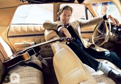 Джефф Бриджес в фотосесии для GQ, октябрь 2013