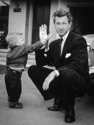 Джефф Бриджес со своим знаменитым отцом Ллойдом Бриджесом