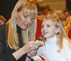 Юлия Бордовских с дочерью Машей