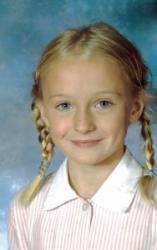 Софи Тернер в детстве