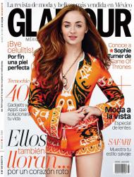 Софи Тернер для Glamour Mexico, июль 2015