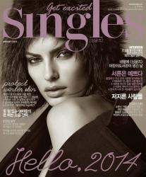 Алисса Миллер для Singles Korea, январь 2014
