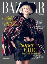 Тони Гаррн для Harper's Bazaar Germany, сентябрь 2014