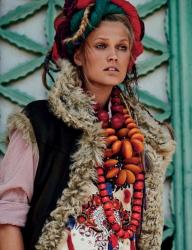 Тони Гаррн для Vogue Germany, июль 2015