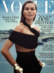 Джессика Харт для Vogue Australia, январь 2014