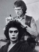 """Тим Карри на съемках мюзикла """"Шоу ужасов Рокки Хоррор"""", 1974 год"""
