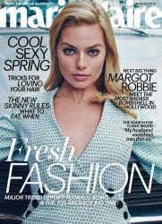 Марго Робби для Marie Claire, март 2015