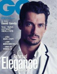 Дэвид Ганди на обложках журналов