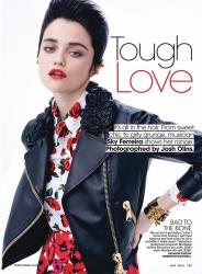 Скай Феррейра для Teen Vogue, май 2014
