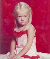 Линдсей Эллингсон в детстве