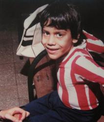Хуан Себастьян Верон в детстве