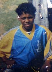 Антонио Валенсия в детстве