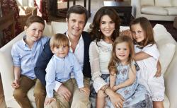 Дети принца Датского Фредерика и Мэри