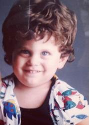 Джона Хилл в детстве