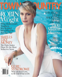 Робин Райт на обложках журналов