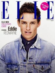 Эдди Редмэйн для Elle UK, январь 2015