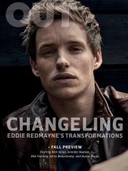 Эдди Редмэйн для журнала OUT, сентябрь 2015
