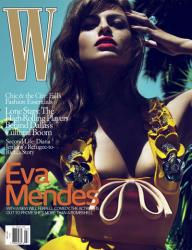 Ева Мендес для W