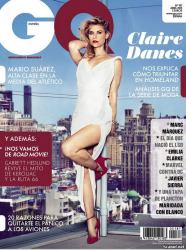 Клэр Дэйнс для GQ, апрель 2013