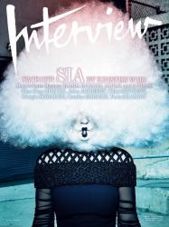 Sia для Interview, апрель 2015