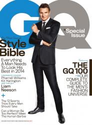 Лиам Нисон в фотосессии Паолы Кадаки для журнала GQ, апрель 2014