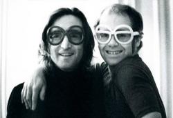 Джон Леннон и Элтон Джон