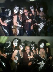 Элтон Джон и Kiss, 1976 год