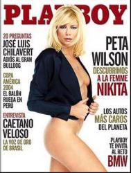 Пета Уилсон на обложках журналов