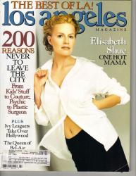 Элизабет Шу на обложках журналов
