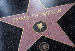Звезда Эммы Томпсон на Аллее славы