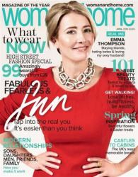 Эмма Томпсон на обложках журналов